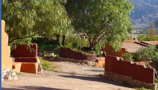 Cerro Chico: Camino del hotel