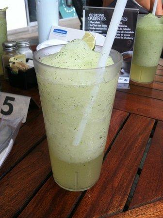 Taco Bar Restaurant: Fresh lemonade