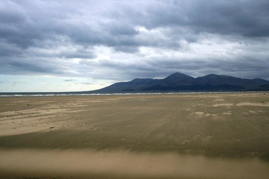 Tyrella House B&B: Mountains of Mourne and Tyrella House private beach
