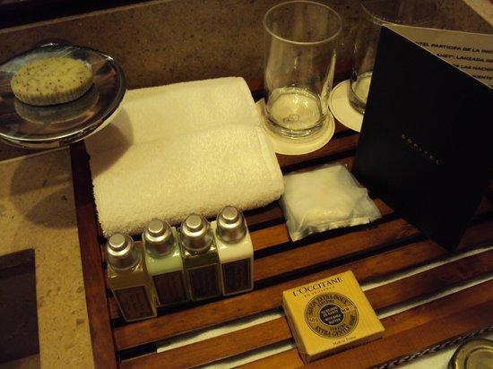 Sofitel Bogota Victoria Regia: Loccitane products