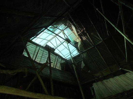 Hotel Hacienda Sueno Azul : Roof of dining room