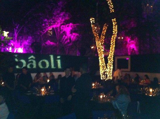 Bâoli Miami: Outdoor area of Baoli