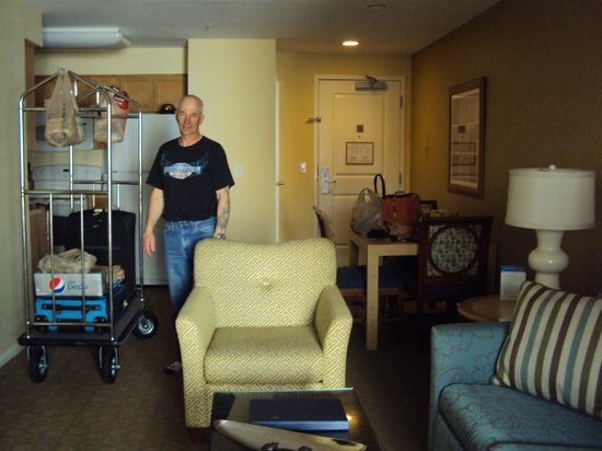 WorldMark San Diego - Mission Valley: Our luggage AND groceries made it in one trip!