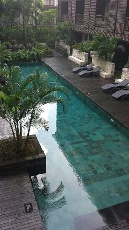Le Grande Bali: one of the pools