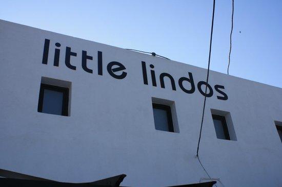 Little Lindos Sea View Studios : fronte struttura