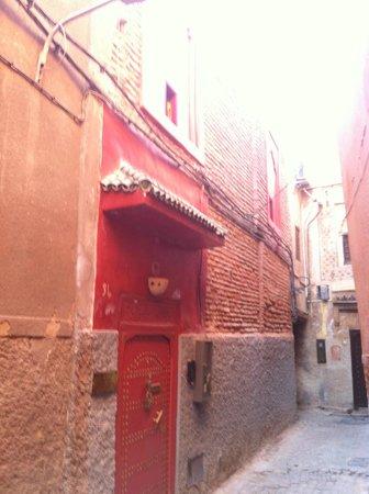 Riad CharCam : entrée du riad