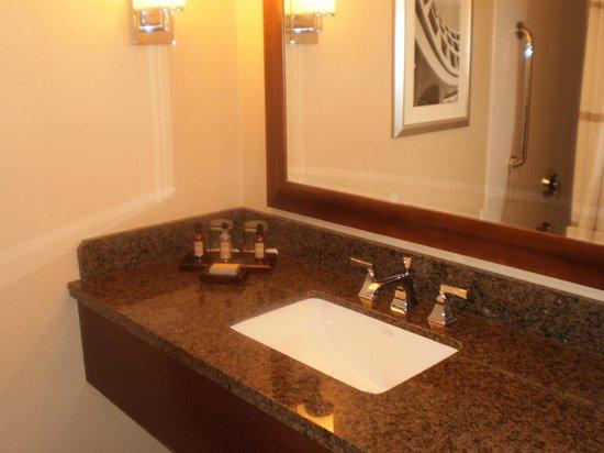 Greenbelt Marriott: Bathroom