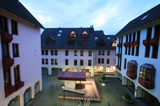 Hotel Olten: view from room