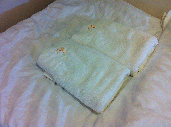 Homy Inn: fresh towel
