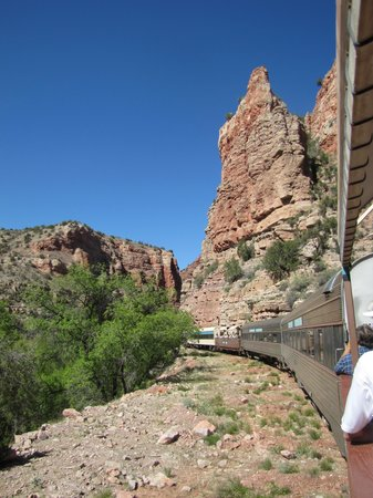 Verde Canyon Railroad: In the canyon