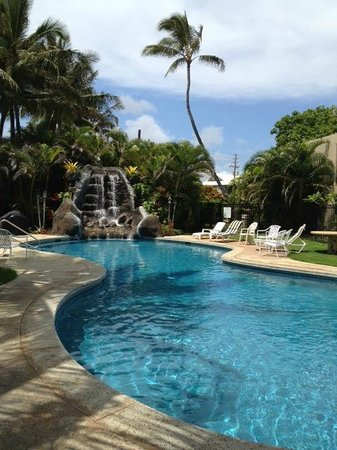 Hotel Coral Reef: Beautiful pool area right off the beach