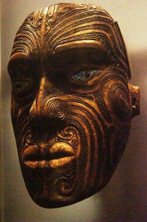 Auckland Museum: Maori nask