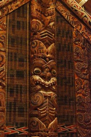 Museu de Auckland: Maori figure