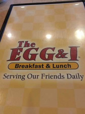 The Egg & I Restaurants- Scarborough: Very diverse menu, both breakfast and lunch!
