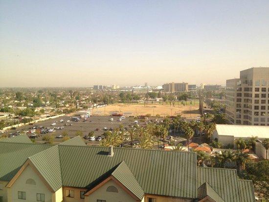 Hotel view towards disney picture of anaheim marriott suites garden grove tripadvisor for Anaheim marriott suites garden grove ca