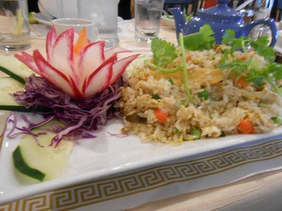 Vegetarian Dinners Fried Rice Picture Of Amango Restaurant Toledo