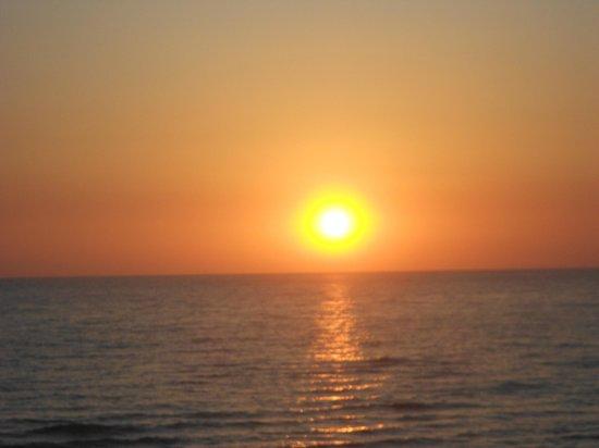 Hotel Mida : tramonto sul mare