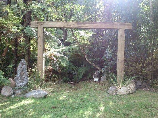Wairua Lodge - Rainforest River Retreat: Gateway to tracks, water holes, hammocks in the bush etc