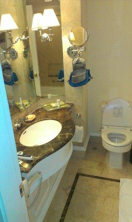 Hotel Gran Mahakam Jakarta: ancient mouldy bathroom