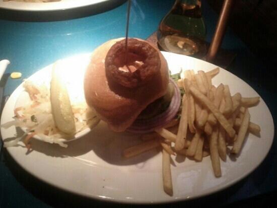 Pickle Barrel: hamburger pb