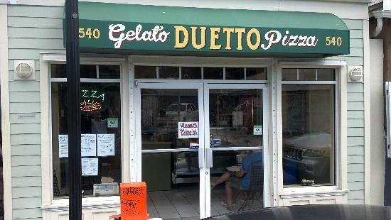 Duetto Pizza and Gelato : Our Storefront