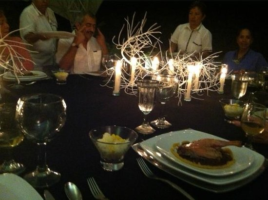 Pepes Hideaway : gorgeous intimate dinner