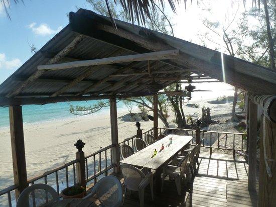 Pigeon Cay Beach Club: El quincho