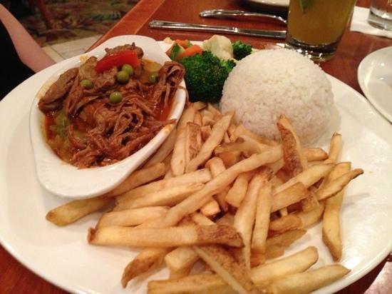 Padrino's Cuban Cuisine: ropa vieja