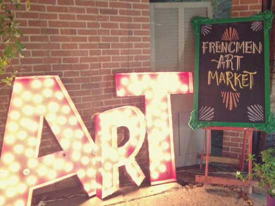 Frenchmen Art Market