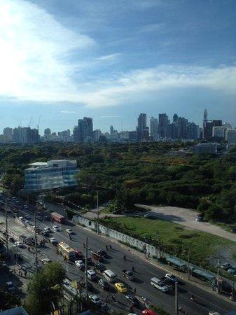 AETAS lumpini: Lumpini Park view