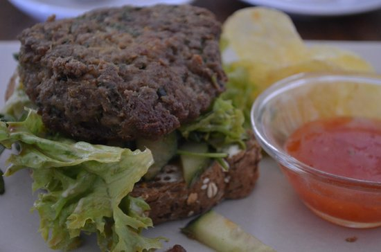 Quirky: The Thai Burger was absolutely delicious.