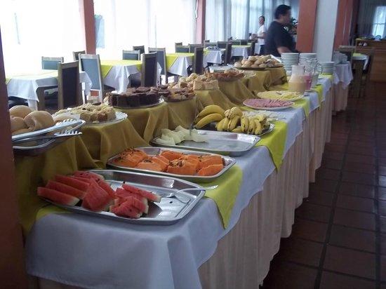 Hotel Alvorada: El desayuno