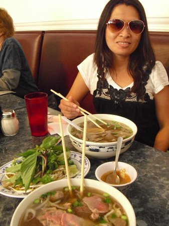 Vietnam Cafe: Pho and my lovely wife