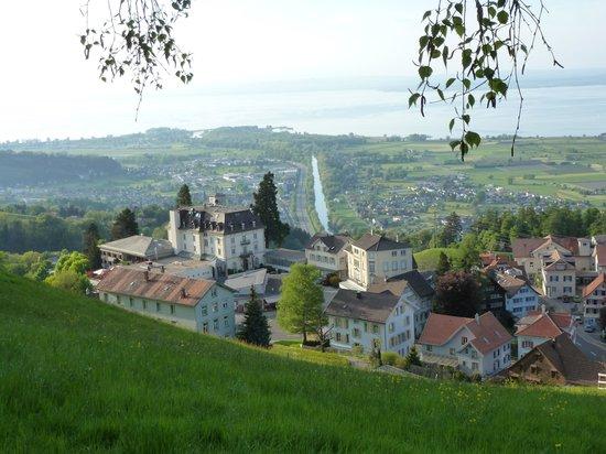 Swiss Dreams Hotel Walzenhausen: Blick von der Höhe