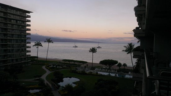 Aston at The Whaler on Kaanapali Beach: sunset view