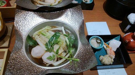 Hotel Nanpuso: shabu shabu