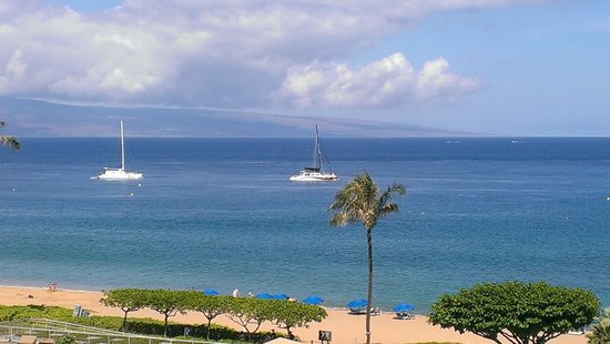 Aston at The Whaler on Kaanapali Beach: Front lanai view 623