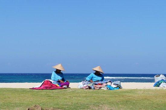Ayodya Resort Bali: Playa