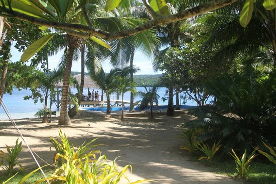 Tongan Beach Resort : View from our room