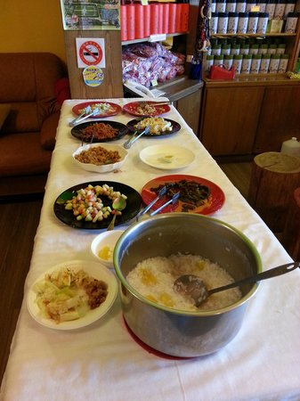 Tan Hsiang Yu B&B: Simple fare for breakfast