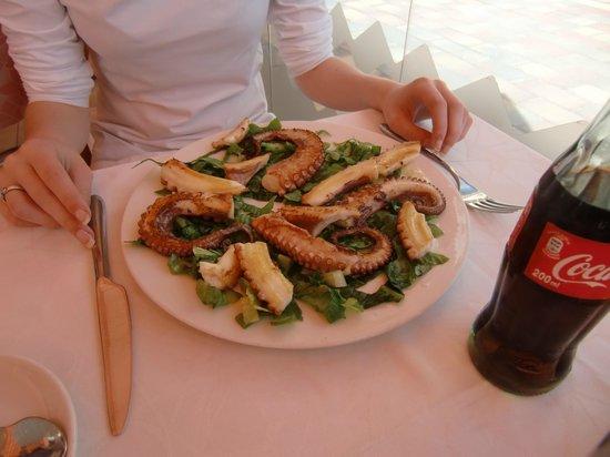 Restaurante El Caracol: octopus