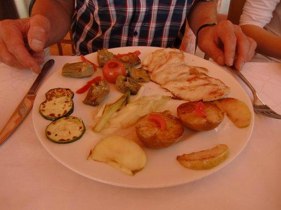 Restaurante El Caracol: chicken