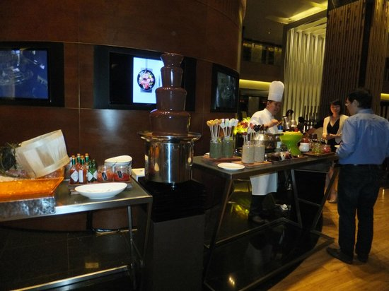 Pan Pacific Orchard: Chocolate Fountain