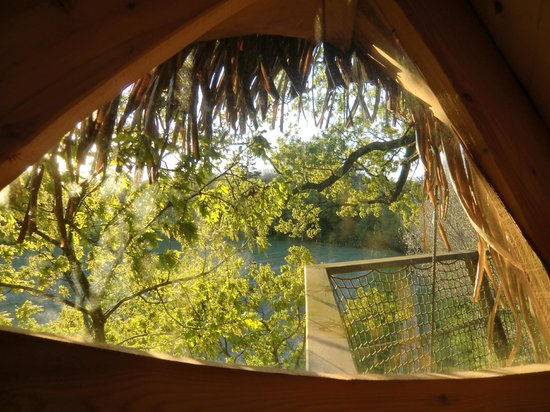 Chateau de la Grande Noe : La cabane Sunset - vue