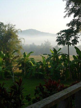 Lisu Lodge: View from the verandah
