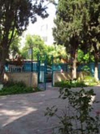 إيدن جيرسوليم هوتل: courtyard