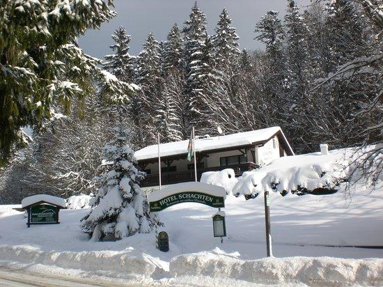Hotel Schachten: Winter im Zwieslerwaldhaus
