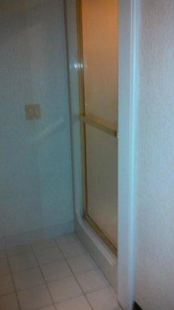 Sleep Inn Phoenix North I-17: Shower Door