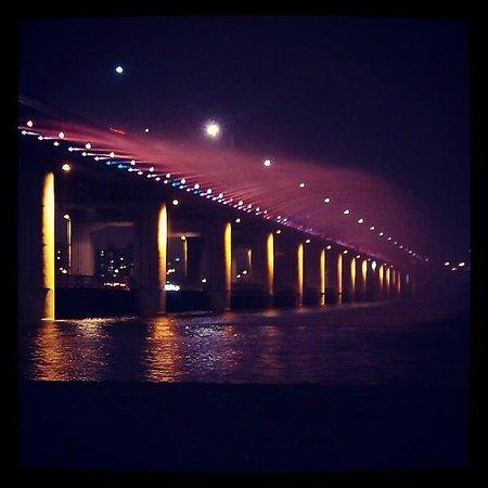 Hangang-Park: banpo bridge