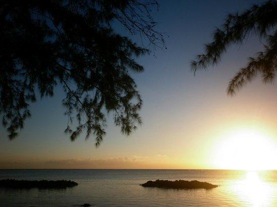 Canonnier Beachcomber Golf Resort & Spa: Vue depuis l hotel